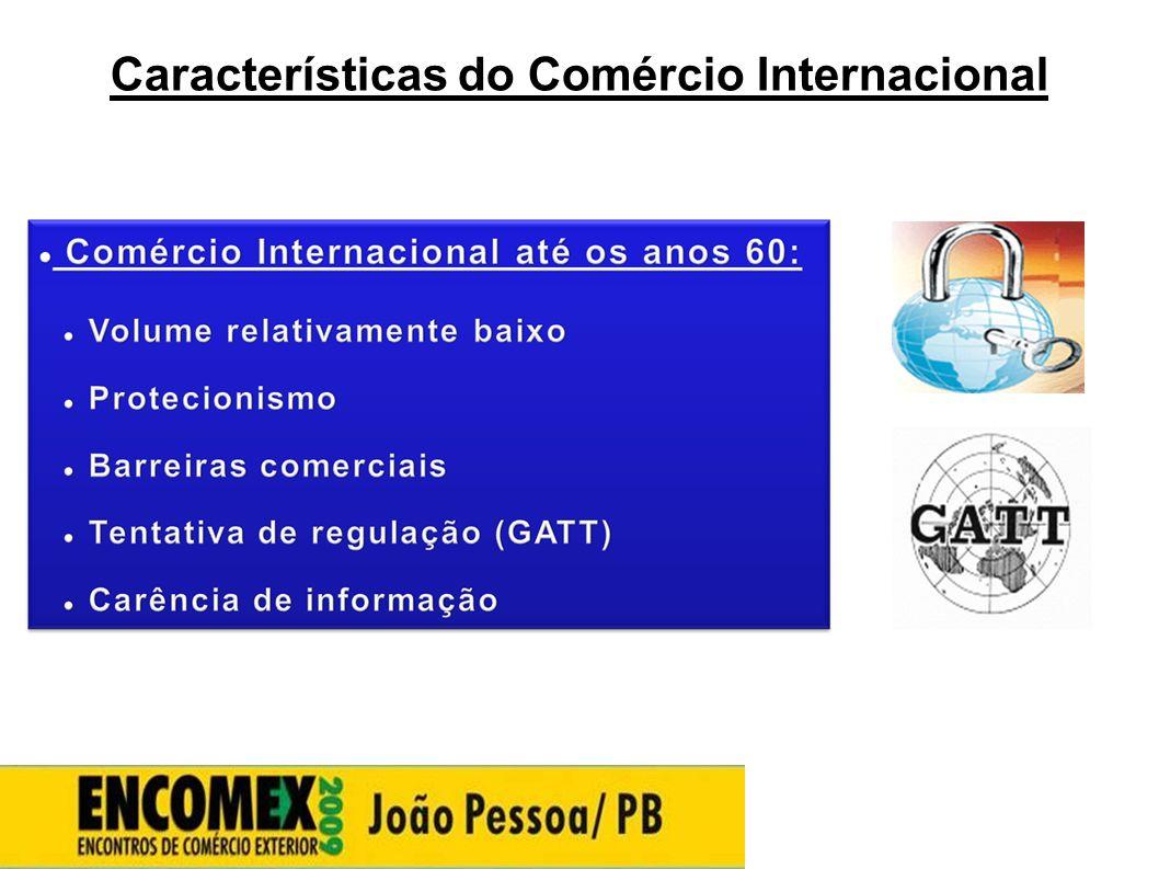 Características do Comércio Internacional