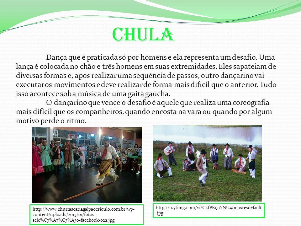 Dança que é praticada só por homens e ela representa um desafio.