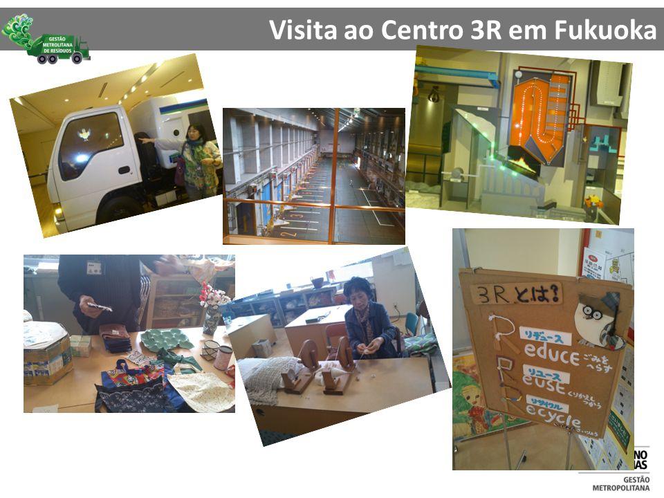 Visita ao Centro 3R em Fukuoka