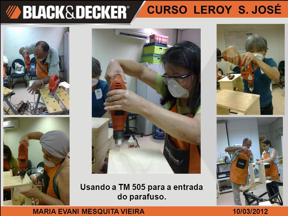 MARIA EVANI MESQUITA VIEIRA10/03/2012 CURSO LEROY S. JOSÉ A QS 800 sempre bem aceita por todos.