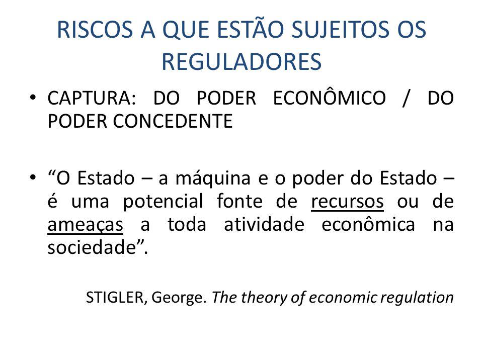 Competências dos reguladores • Nos processos de desestatização, reguladores deverão ficar mais atentos à tutela da concorrência no desenho dos marcos regulatórios e dos editais de licitação.