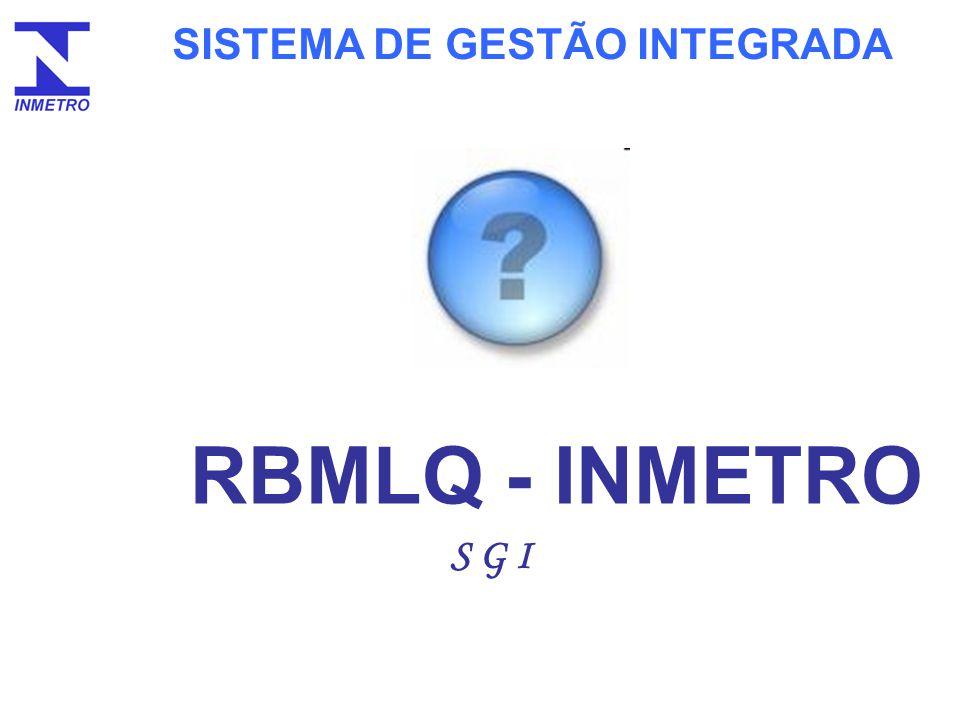 SISTEMA DE GESTÃO INTEGRADA RBMLQ - INMETRO S G I Perguntas: