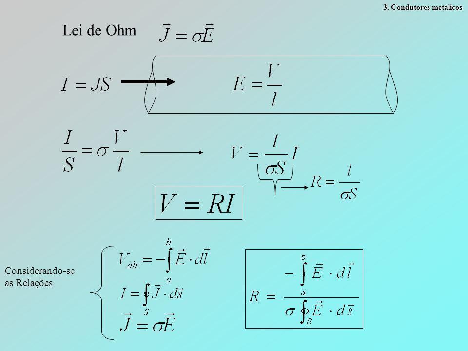 Componente contínua Componente descontínua Vamos examinar D 1 e (E 1 ) formando um ângulo  com a superfície 11 22   D2D2 D1D1 cc Resolução Se  1 >  2 então  2 >  1