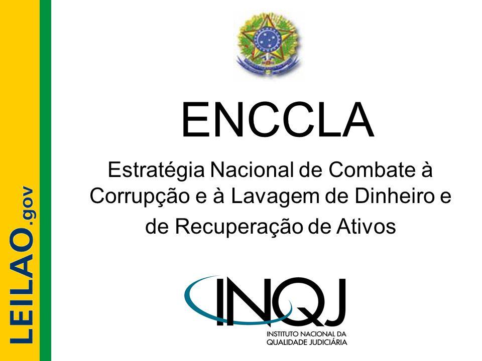 ENCCLA Estratégia Nacional de Combate à Corrupção e à Lavagem de Dinheiro e de Recuperação de Ativos