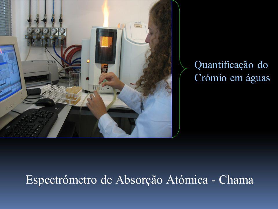 Quantificação do Crómio em águas Espectrómetro de Absorção Atómica - Chama