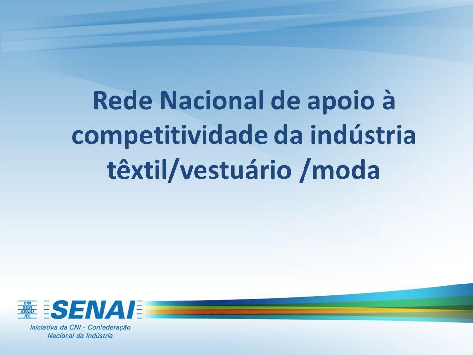 Rede Nacional de apoio à competitividade da indústria têxtil/vestuário /moda