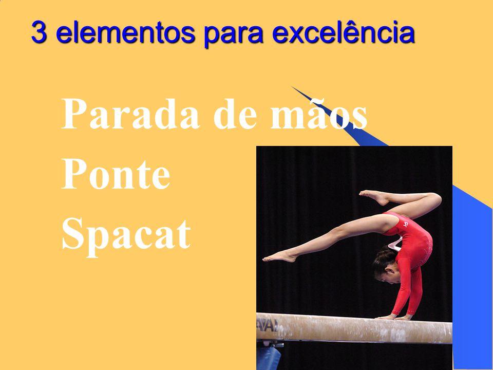 27/6/2014 35 3 elementos para excelência  Parada de mãos  Ponte  Spacat