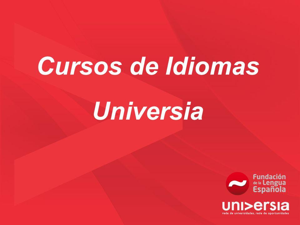 Cursos de Idiomas Universia