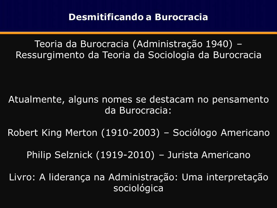 Desmitificando a Burocracia Burocracia e Impacto Econômico Burocracia e Impacto Econômico 1.Afeta 98% das empresas em pelo menos uma das atividades diárias; 2.Perdas de até R$ 1 milhão de reais/ano para empresas de grande porte; 3.Facilidade para se fazer negócios: Brasil 126ª posição entre 183 países.