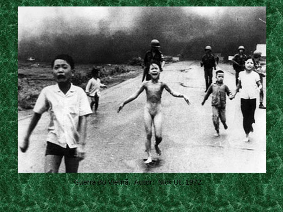 Guerra do Vietnã. Autor: Nick Ut, 1972.