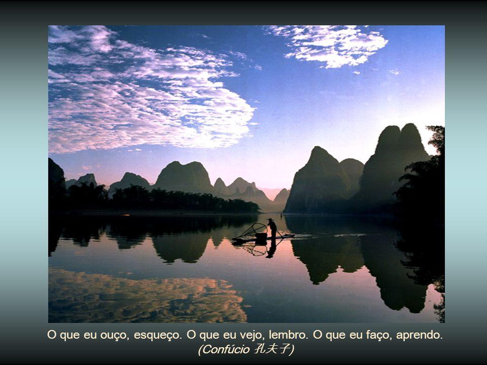 O sábio é notado sem se exibir. Renuncia a si mesmo e jamais será esquecido. (Lao-Tsé 老子) 