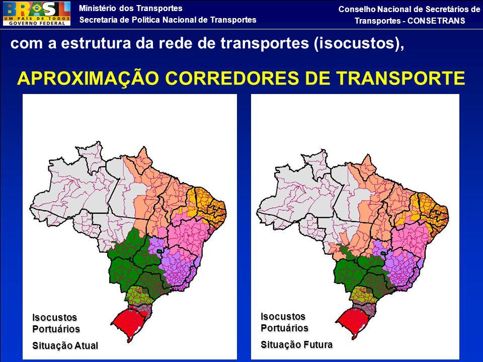 Ministério dos Transportes Secretaria de Política Nacional de Transportes Conselho Nacional de Secretários de Transportes - CONSETRANS com a estrutura