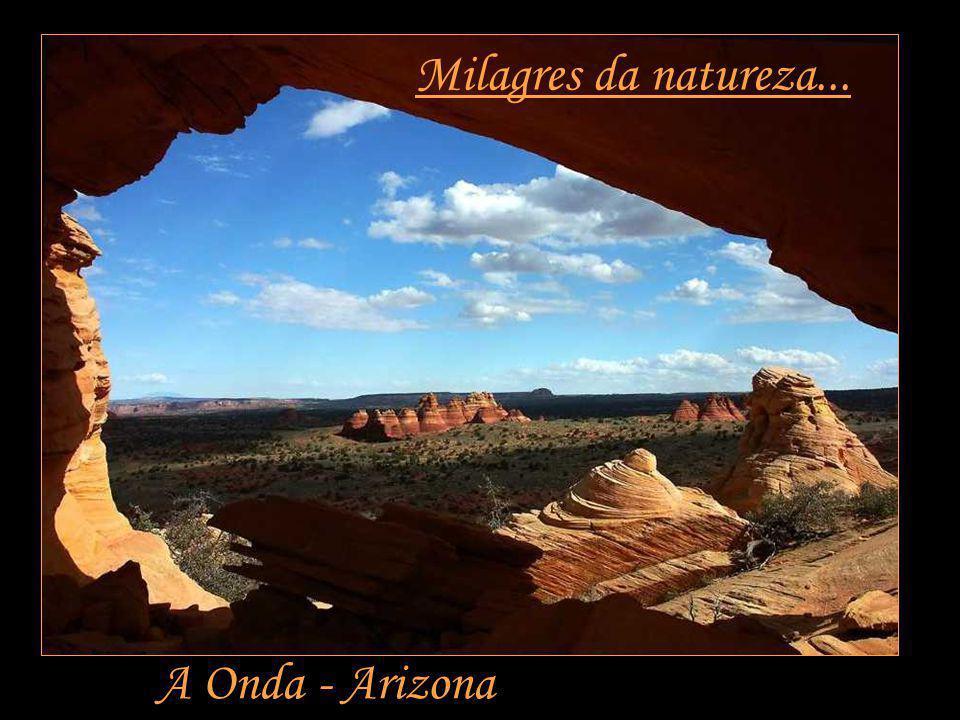 Milagres da natureza... A Onda - Arizona