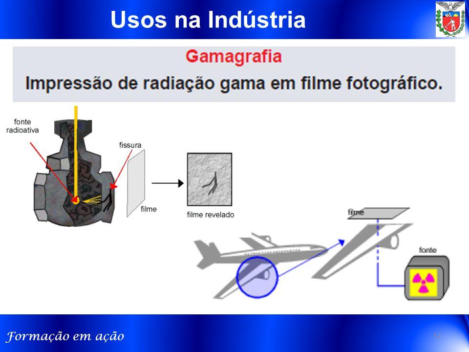 Formação em ação 52 Usos na Indústria