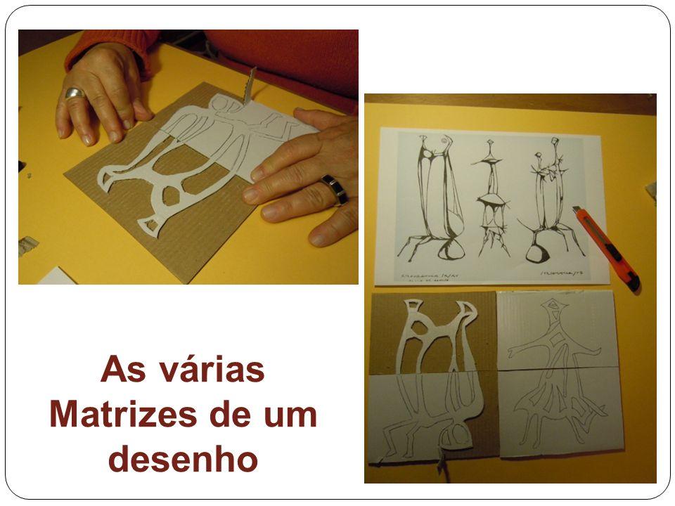 As várias Matrizes de um desenho