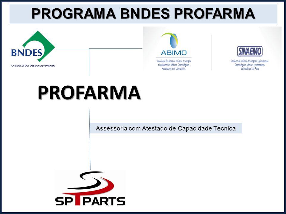 PROFARMA PROGRAMA BNDES PROFARMA Assessoria com Atestado de Capacidade Técnica