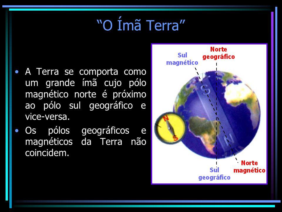 Resultado de imagem para polo geográfico e polo magnético