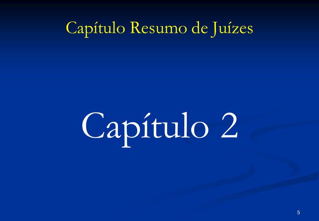 Capítulo Resumo de Juízes Capítulo 2 5