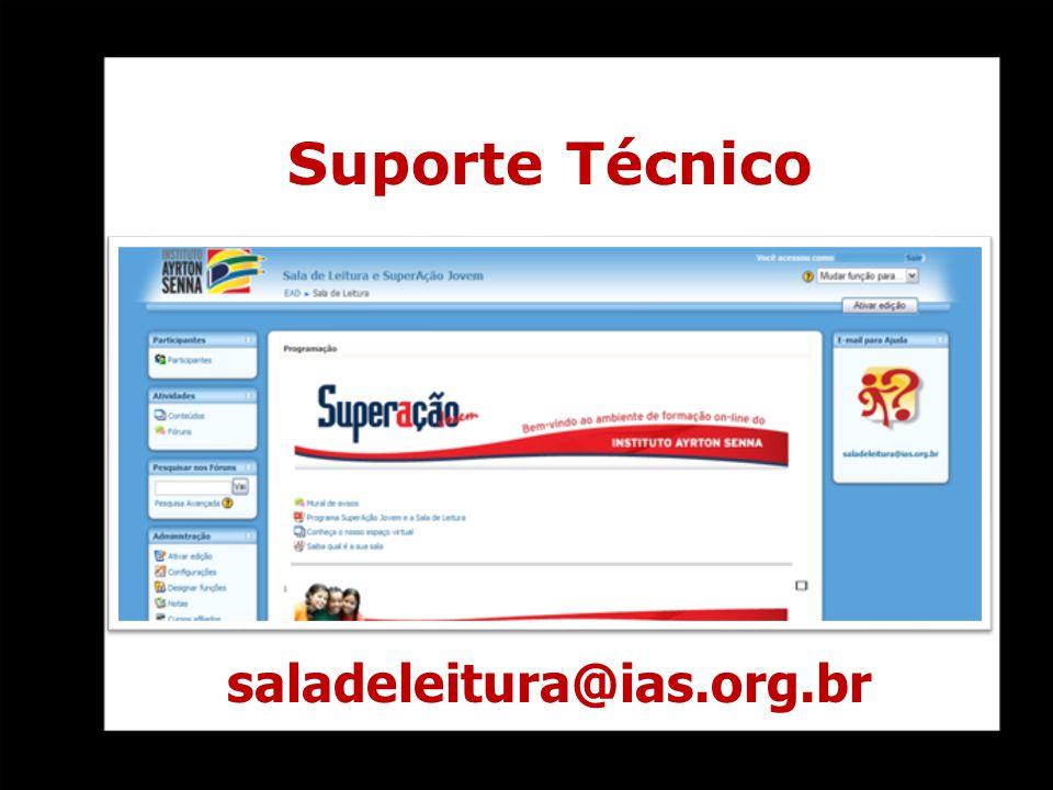 saladeleitura@ias.org.br Suporte Técnico