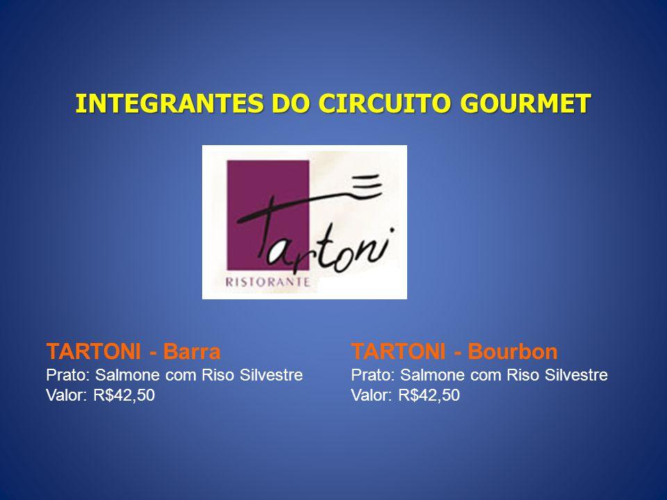 INTEGRANTES DO CIRCUITO GOURMET SASHIBURI – D.