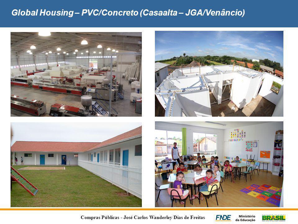 Global Housing – PVC/Concreto (Casaalta – JGA/Venâncio) Compras Públicas - José Carlos Wanderley Dias de Freitas