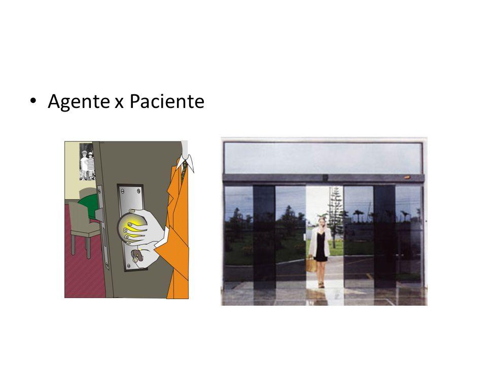 • Agente x Paciente