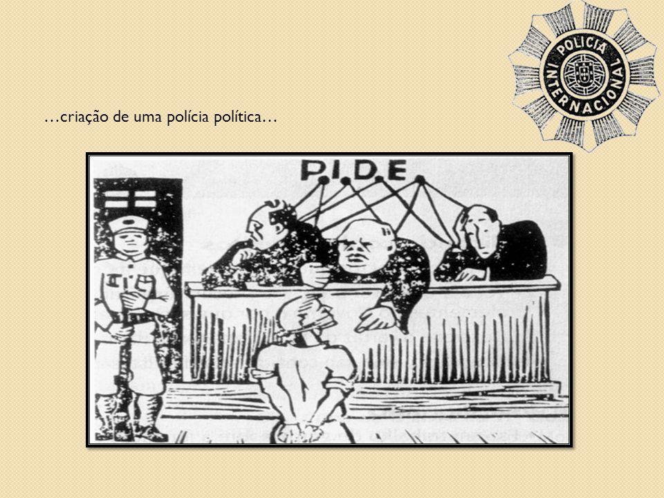 …criação de uma polícia política…