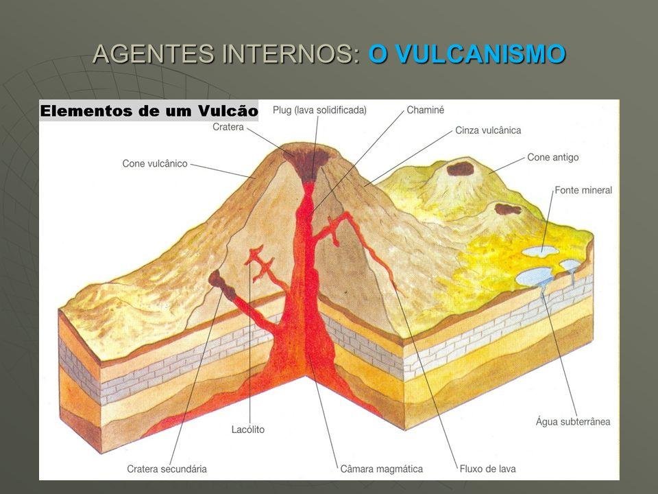 AGENTES INTERNOS: O VULCANISMO