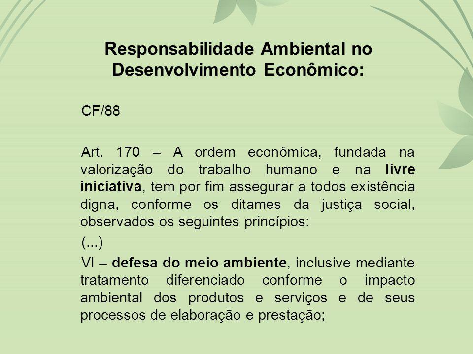 •RESPONSABILIDADE ADMINISTRATIVA •RESPONSABILIDADE CIVIL •RESPONSABILIDADE PENAL –Pessoas Físicas e Jurídicas Espécies de Responsabilidade em Matéria Ambiental: