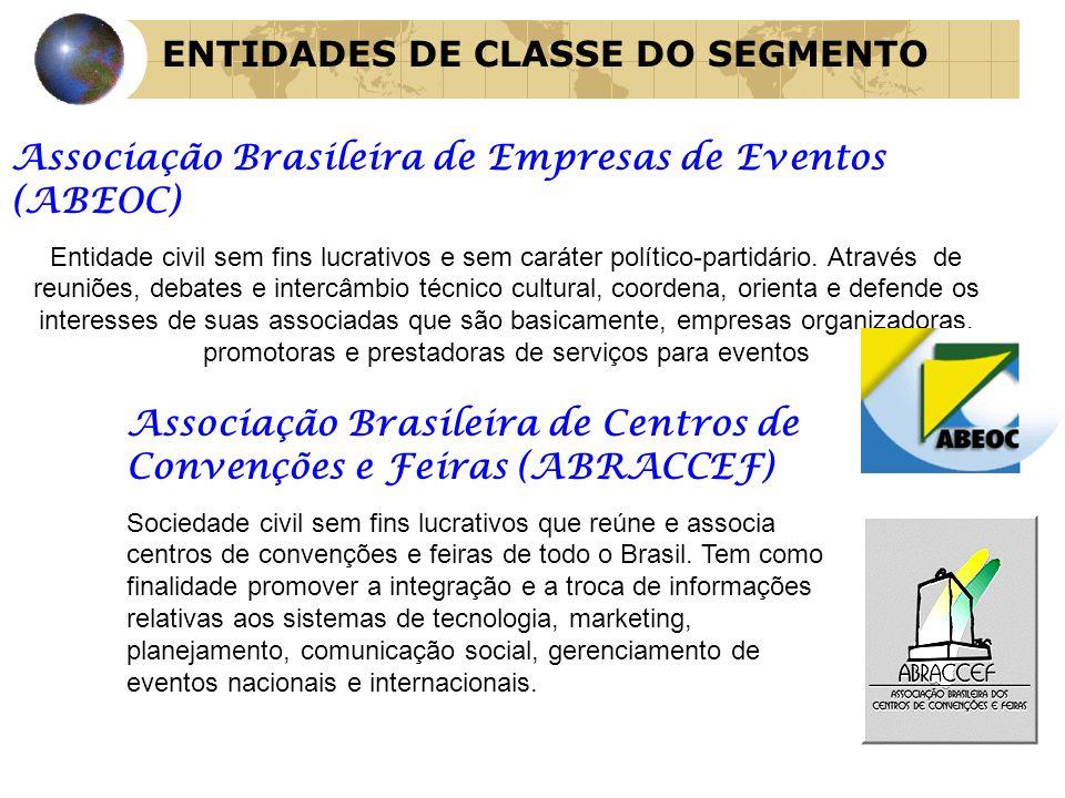 Associação Brasileira de Empresas de Eventos (ABEOC) Entidade civil sem fins lucrativos e sem caráter político-partidário. Através de reuniões, debate