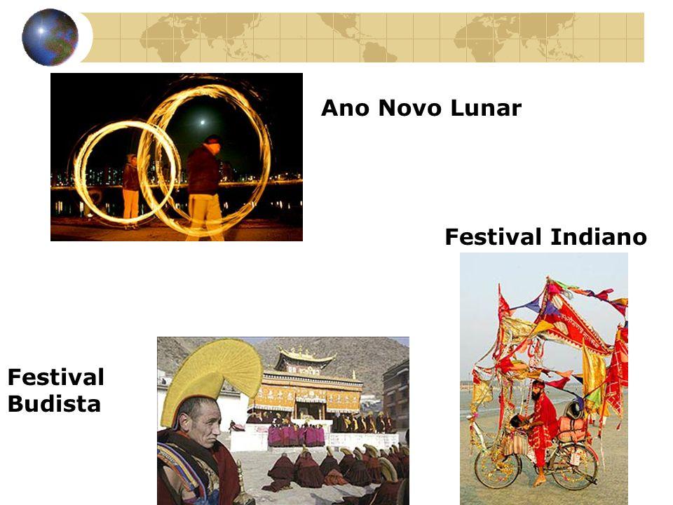 Ano Novo Lunar Festival Budista Festival Indiano