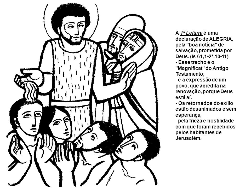 O Natal se aproxima e a Liturgia é um convite à alegria porque o Senhor já está no meio de nós. É o