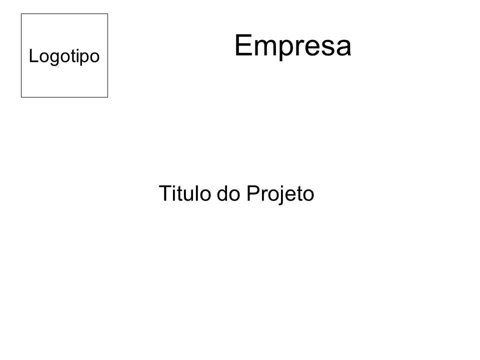 Empresa Titulo do Projeto Logotipo