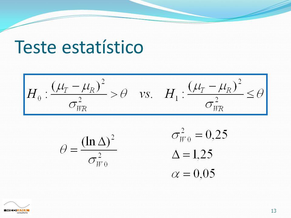 Teste estatístico 13