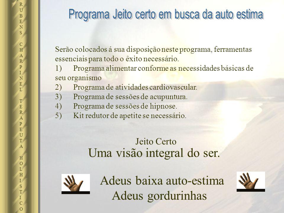 Serão colocados á sua disposição neste programa, ferramentas essenciais para todo o êxito necessário. 1) Programa alimentar conforme as necessidades b