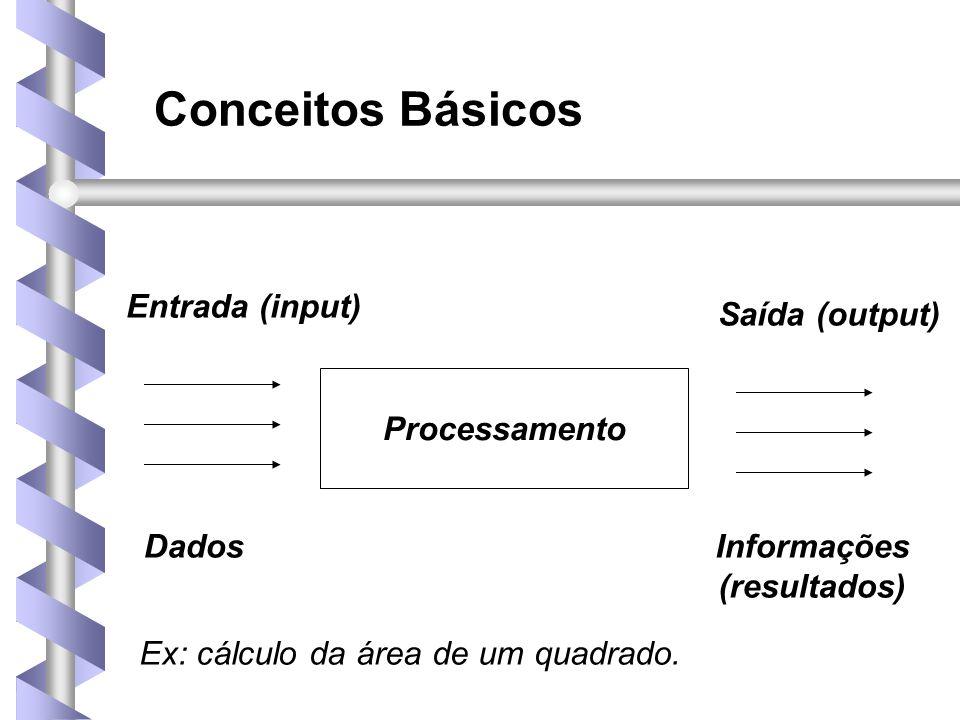Conceitos Básicos • Processamento Eletrônico de Dados (PED): • Consiste em uma especificidade do proces- samento de dados, que visa oferecer soluções melhores que as tradicionais para o problema de obtenção de informações.