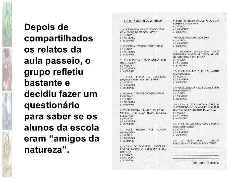A curiosidade das crianças em saber como o meio ambiente era cuidado em outros lugares, foi motivo para o envio de cartas para todas as capitais do Brasil e para algumas cidades do Estado de SP que fazem parte de nossa bacia hidrográfica.