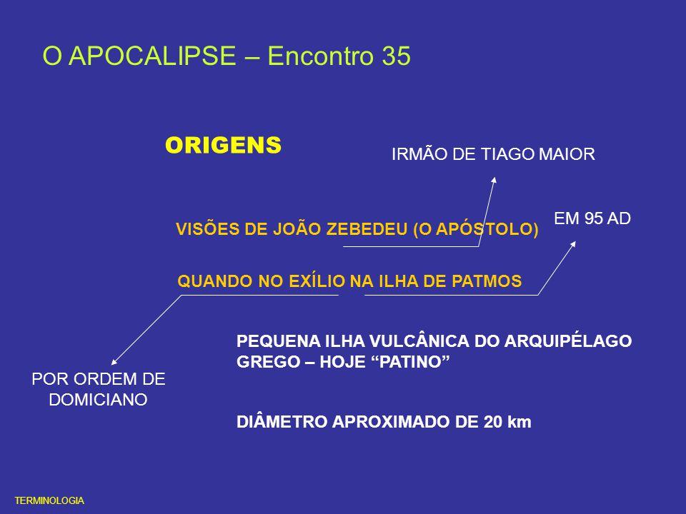 O APOCALIPSE CAPÍTULO 9 O ASTRO ÍGNEO ( NOVO PLANETA ) RECRUDESCIMENTO DOS INSTINTOS QUATRO ANJOS DAS TREVAS SERÃO DESAMARRADOS AS GUERRAS REDUÇÃO DA POPULAÇÃO DO PLANETA A 2/3 APÓLION RENASCERÁ ( O ANJO DESTRUÍDOR ) TEMPO