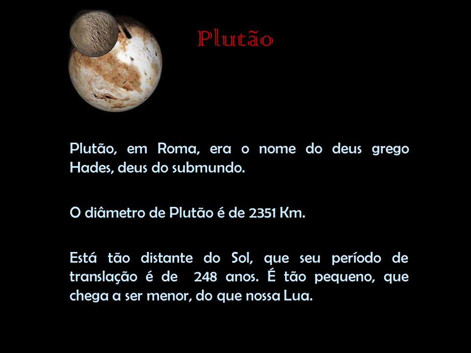 Plutão Plutão, em Roma, era o nome do deus grego Hades, deus do submundo.