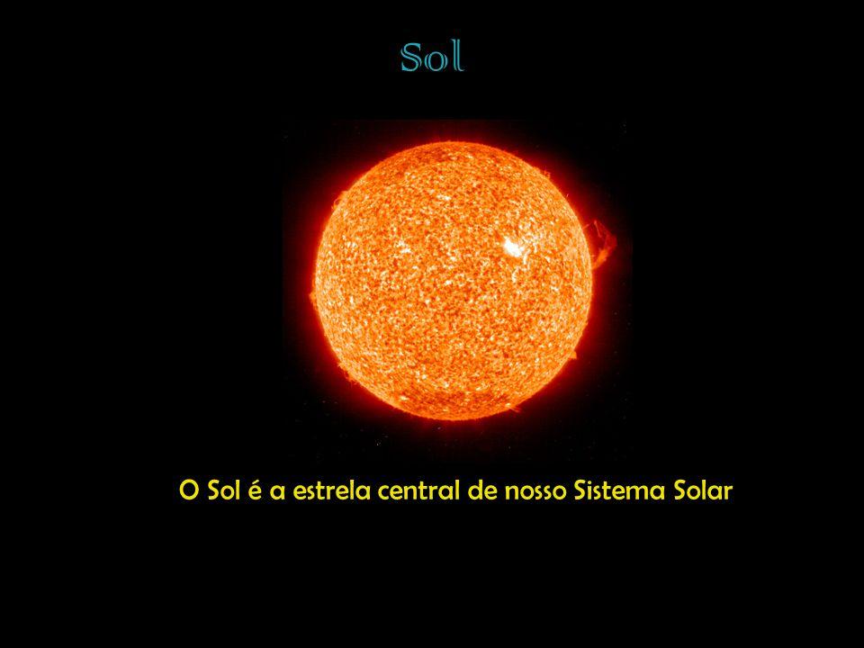 Sol O Sol é a estrela central de nosso Sistema Solar
