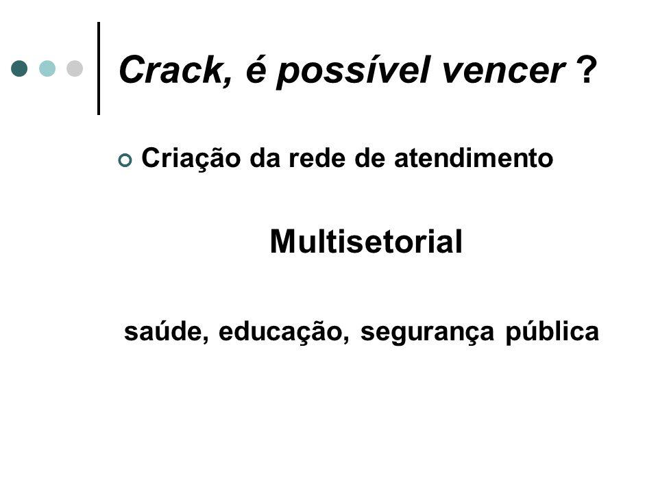Crack, é possível vencer .