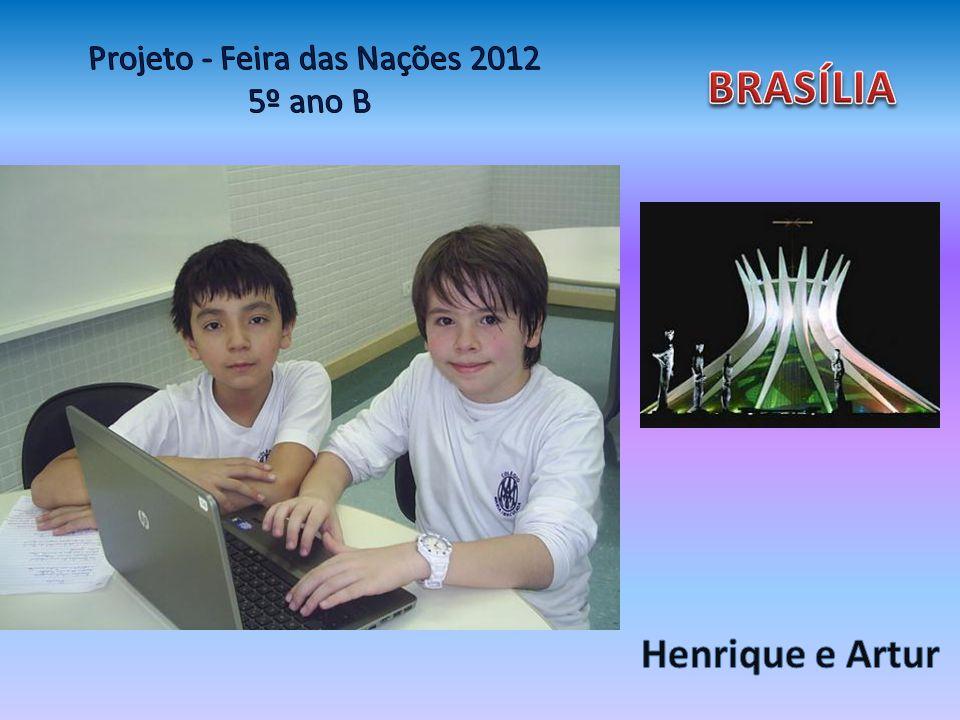 Brasília Brasília é uma cidade Planejada em forma de avião E quando chegaram lá só Tinha um cerradão.