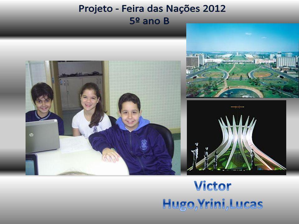 Brasília – a capital do Brasil As capitais anteriores Salvador e Rio de Janeiro eram cidades do litoral.