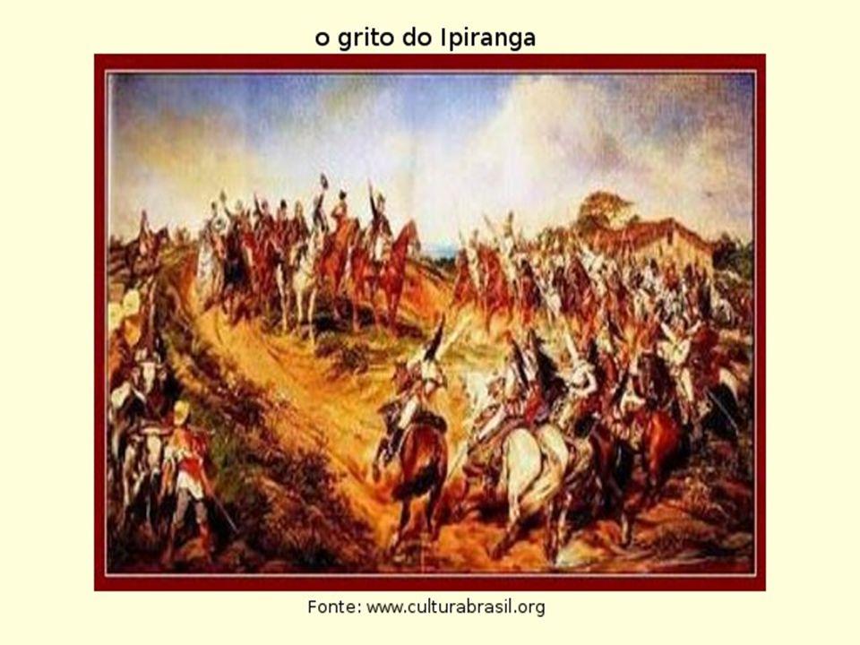 O reconhecimento da Independência • Portugal só reconheceu a Independência do Brasil após cobrar 2 milhões de libras esterlinas.