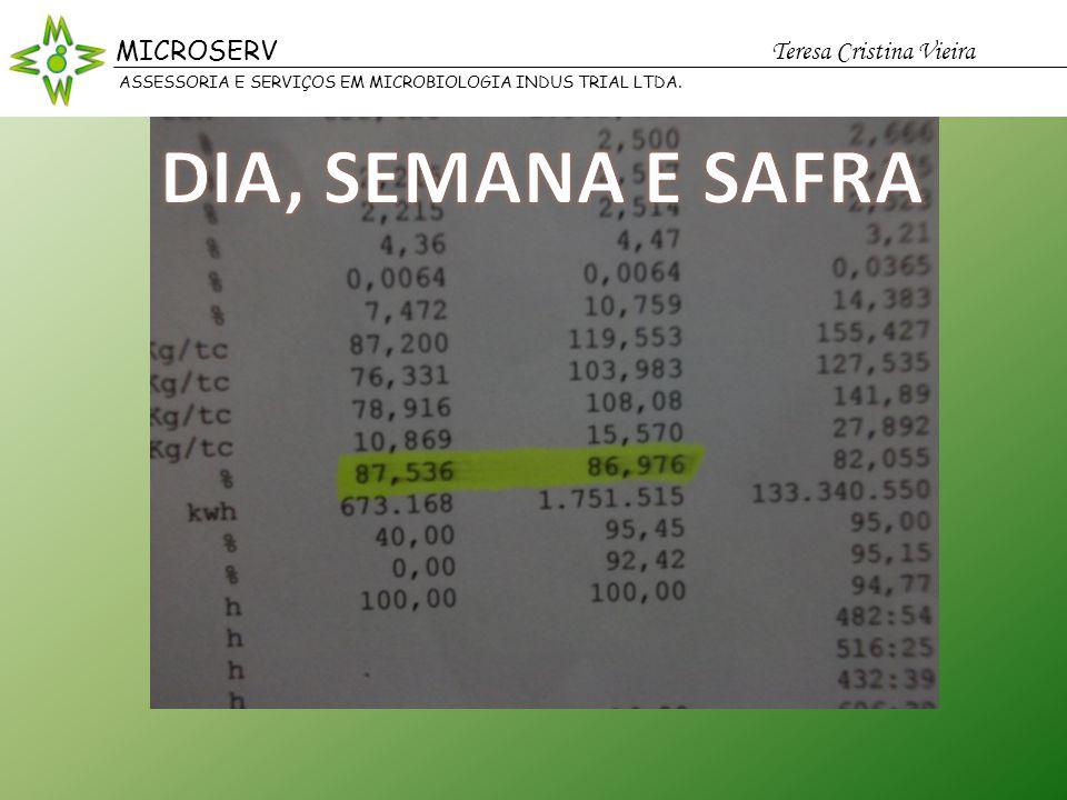 MICROSERV Teresa Cristina Vieira Possas MICROSERV Teresa Cristina Vieira ASSESSORIA E SERVIÇOS EM MICROBIOLOGIA INDUS TRIAL LTDA.