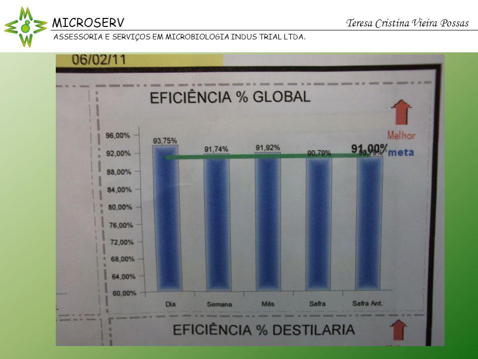 MICROSERV Teresa Cristina Vieira Possas ASSESSORIA E SERVIÇOS EM MICROBIOLOGIA INDUS TRIAL LTDA.