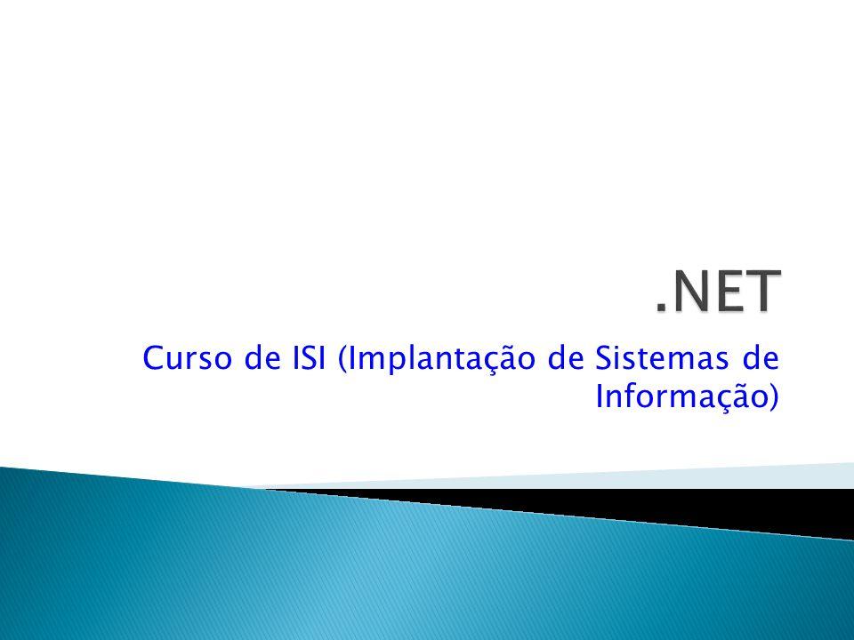 Curso de ISI (Implantação de Sistemas de Informação)