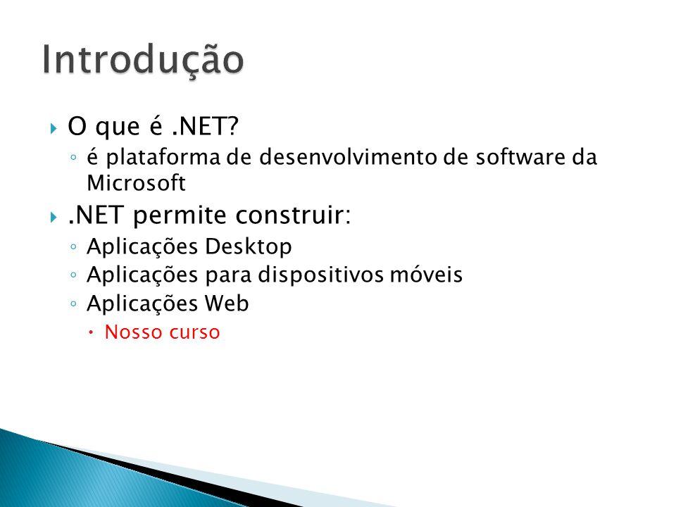  O que é.NET.