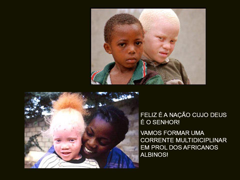 O governo da Tanzânia proibiu o curanderismo, para impedir a caça de mais de albinos.