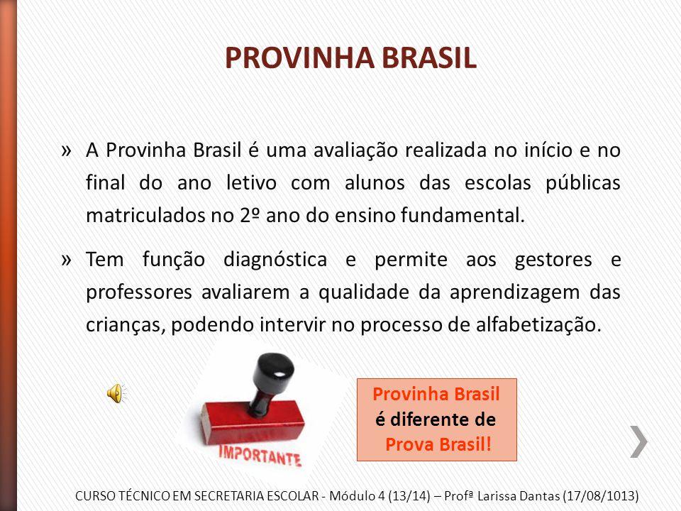 CURSO TÉCNICO EM SECRETARIA ESCOLAR - Módulo 4 (13/14) – Profª Larissa Dantas (17/08/1013) » O programa surgiu em 2007 e tem como objetivo promover a